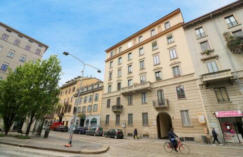 Trilocale affitto Porta Vigentina
