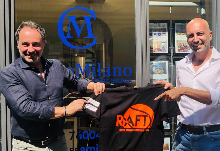 Classe Milano nuovo sponsor di Raf Tennis